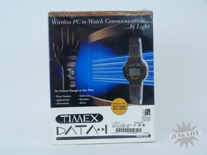 Timex Data Link Wrist Watch Wireless Windows PC 1990s Digital Gadget