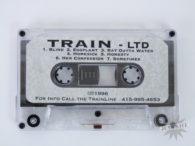 Train Band Monahan LTD Demo Tape 1996 Original