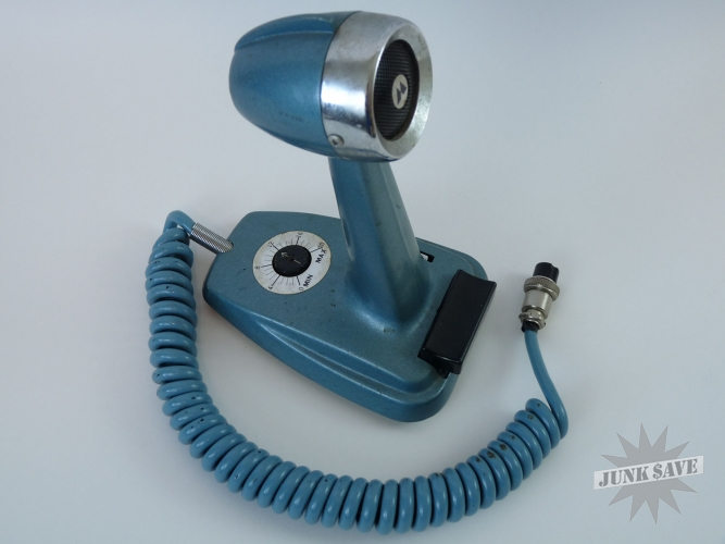 Vintage Turner  2 Plus Cb Ham Desktop Microphone
