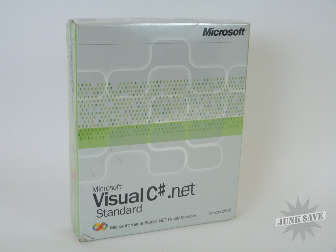 Visual C-Sharp .Net 2002 Standard Win32 English Sealed Box