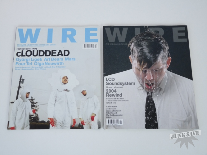 Wire UK Magazine Clouddead LCD Soundsystem 2 Issue Lot