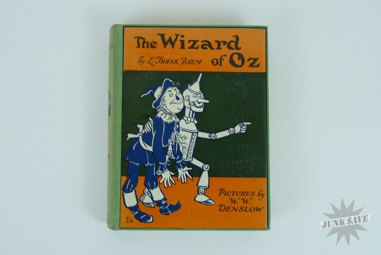 The Wizard of Oz Book L Frank Baum 1903
