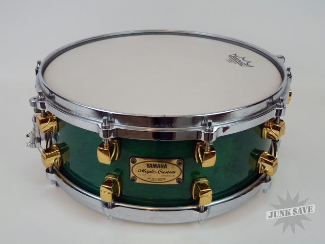 Yamaha Maple Custom Snare Gold Lugs