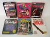 Apple II Video Game Software Lot Shogun Leisure Suit Larry Epyx More