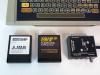 Atari 400 Vintage Computer with Basic and Assembler Cartridges