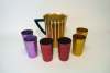Bascal Aluminum Pitcher & Tumbler Set