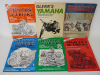 Book Lot 17 Motorcycle Maintenance Manuals Honda Harley Davidson Suzuki Yahama