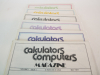 Calculators Computers Vintage Magazine Lot 6 Backissues 1977 1978 First Issue