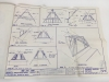 Vintage 1979 Cathedralite Geodesic Dome House Plans Blueprints