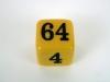 Crisloid Backgammon Doubling Dice Bakelite