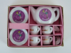 Disneyland Mini Tea Party Set Ceramic Porcelain Vintage New