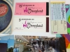 Vintage Disneyland Lot Tickets Guides Postcards Record More
