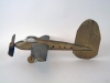 Wood Folk Art Airplane Weathervane Sculpture Vintage Scrap Parts