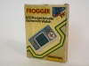 Halion Frogger LCD Handheld Game Rare Grandstand Foil Box