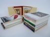 Lot of 15 Postcard Books Art Jazz Museums Writers Star Wars