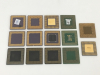 Intel Pentium Processor CPU Lot Ceramic Scrap Gold Recovery High Yield
