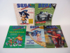 Sega Visions Magazine Lot with Super Mario World Guide