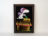 Snoopy Velvet Painting Mexican The Red Baron