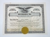Vintage Stock Certificate Lot Goldman Sachs Howard Johnson