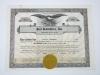 Vintage Stock Certificate Lot Goldman Sachs Howard Johnson