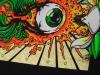 Widespread Panic at Red Rocks Mini-Poster Drowning Creek Studios